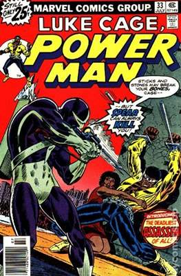 Hero for Hire / Power Man Vol 1 / Power Man and Iron Fist Vol 1 (Comic Book) #33