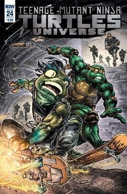 Teenage Mutant Ninja Turtles Universe (Comic Book) #24