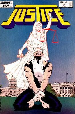 Justice. New Universe (1986) (Grapa.) #21