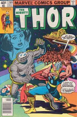 Journey into Mystery / Thor Vol 1 (Comic Book) #289