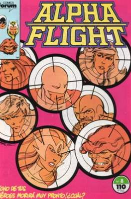 Alpha Flight Vol. 1 / Marvel Two-in-one: Alpha Flight & La Masa Vol.1 (1985-1992) #8