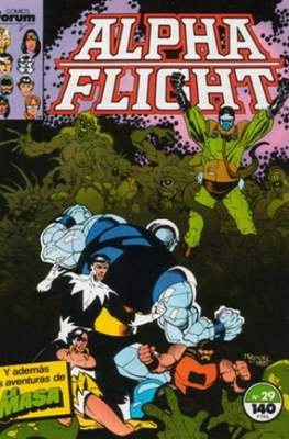 Alpha Flight vol. 1 / Marvel Two-in-one: Alpha Flight & La Masa vol.1 (1985-1992) (Grapa 32-64 pp) #29