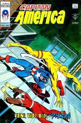 Capitán América Vol. 3 (1975-1980) (Grapa) #28