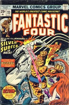 Fantastic Four Vol. 1 (1961-1996) (saddle-stitched) #155