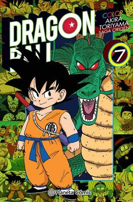 Dragon Ball Color: Saga origen (Rústica con sobrecubierta) #7