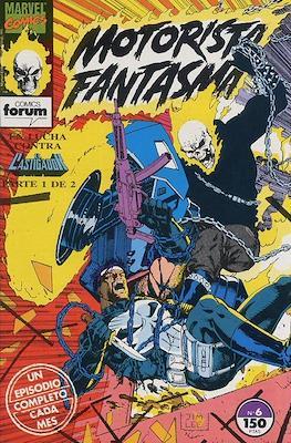 Motorista Fantasma (1991-1994) (Grapa. 17x26. 24 páginas. Color. (1991-1994).) #6