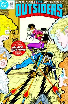 The Outsiders (1985-1988) (Comic Book) #9