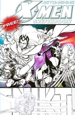 Astonishing X-Men / Amazing Spider-Man Sketchbook (2009)