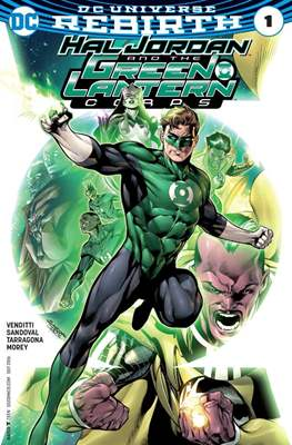 Hal Jordan and the Green Lantern Corps (2016-2018) (Comic-book) #1