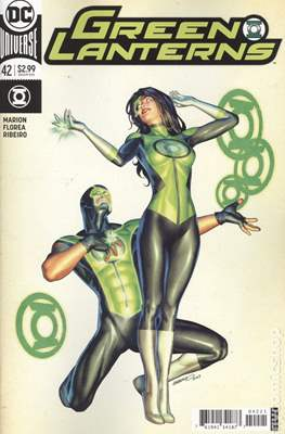 Green Lanterns (Vol. 1 2016-... Variant Covers) (Comic Book) #42