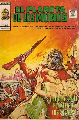 El planeta de los monos Vol. 1 (1977-1979) (Grapa y rústica 84-52 pp) #21
