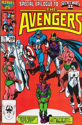 The Avengers Vol. 1 (1963-1996) (Grapa) #266