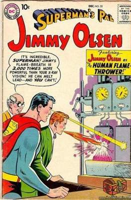 Superman's Pal, Jimmy Olsen / The Superman Family (Comic Book) #33