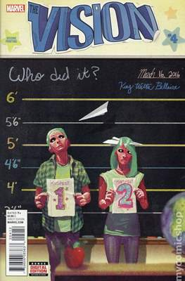 The Vision Vol. 3 (Variant Cover) (Comic Book) #4.1