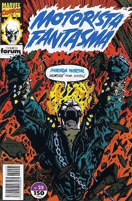 Motorista Fantasma (1991-1994) (Grapa. 17x26. 24 páginas. Color. (1991-1994).) #25