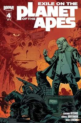 Exile on the Planet of the Apes (Grapa) #4