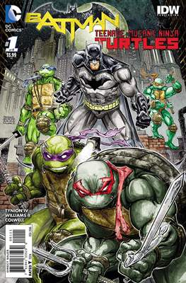 Batman / Teenage Mutant Ninja Turtles