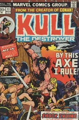 Kull the Conqueror / Kull the Destroyer (1971-1978) (comic-book) #11