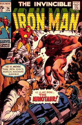 Iron Man Vol. 1 (1968-1996) (Comic book) #24