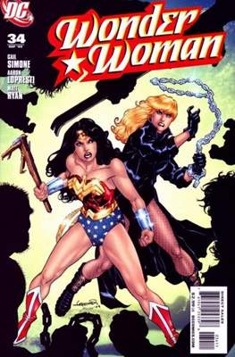Wonder Woman Vol. 3 (2006-2011) (Comic Book) #34