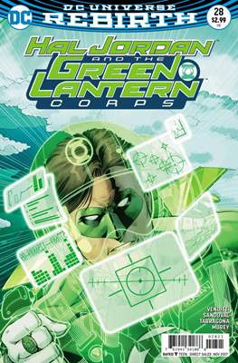 Hal Jordan and the Green Lantern Corps (Vol. 1 2016-... Variant Covers) (Grapa) #28.1
