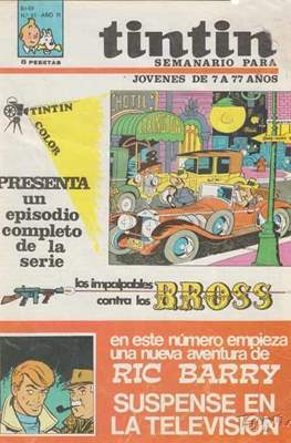 Tintin (Grapa 20 pags.) #61