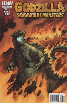 Godzilla: Kingdom of Monsters (Comic Book) #4