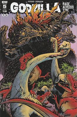 Godzilla Rage Across Time (Grapa 32 páginas - Color) #5.2