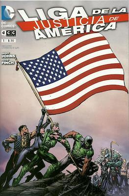 Liga de la Justicia de América (Grapa) #1