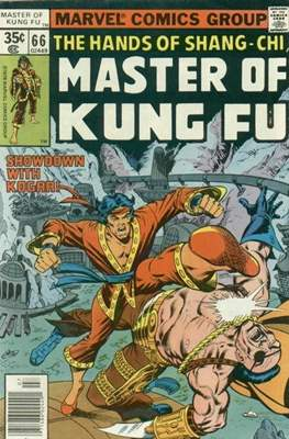 Master of Kung Fu (Comic Book. 1974 - 1983. Continued from Special Marvel Edition #16) #66