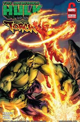 Incredible Hulk and the Human Torch: From the Marvel Vault