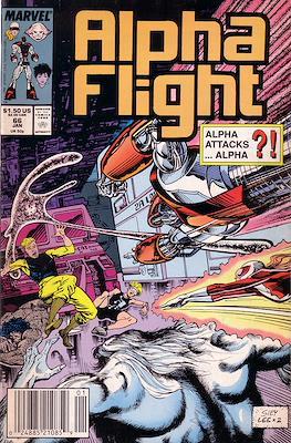 Alpha Flight Vol. 1 (1983-1994) (Comic Book) #66