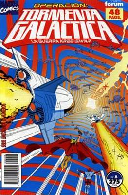 Operación: Tormenta Galáctica (1992-1993) (Grapa) #8