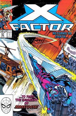 X-Factor Vol. 1 (1986-1998) (Comic Book) #51