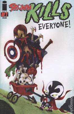 Spawn Kills Everyone! Variant Covers (Grapa 28 pp) #1.1