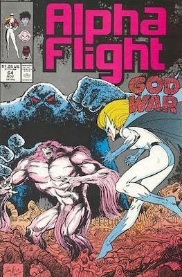 Alpha Flight Vol. 1 (1983-1994) (Comic Book) #64