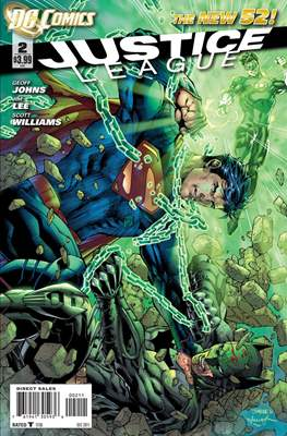 Justice League Vol. 2 (2011-2016) #2