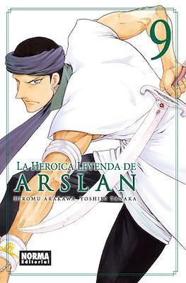 La heroica leyenda de Arslan #9