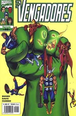 Los Vengadores vol. 3 (1998-2005) (Grapa. 17x26. 24 páginas. Color. (1998-2005).) #40