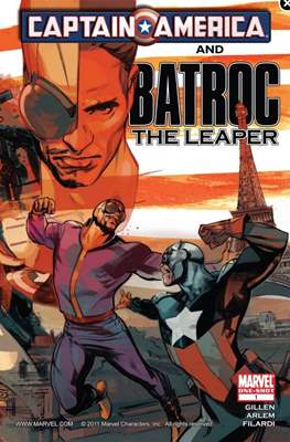 Captain America & Batroc The Leaper