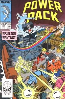 Power Pack (1984-1991; 2017) (Grapa) #49