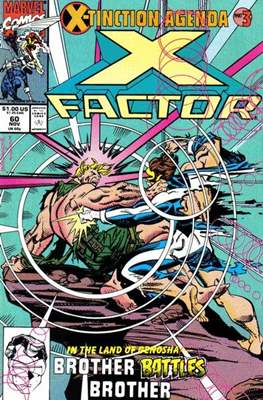 X-Factor Vol. 1 (1986-1998) (Comic Book) #60