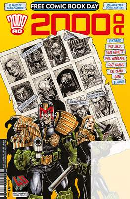2000 AD - Free Comic Book Day 2017