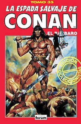 La Espada Salvaje de Conan el Bárbaro. Edición coleccionistas (Rojo) (Cartoné. 192 páginas. B/N. (1997).) #35