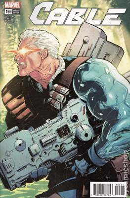 Cable (2017- Variant Covers) (Comic Book) #155