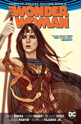 Wonder Woman Rebirth Deluxe Edition (Hardcover 360-296 pp) #2