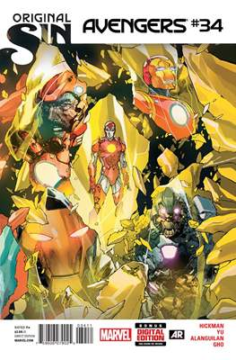 Avengers Vol. 5 (2013-2015) (Comic Book) #34