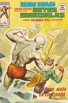 Relatos salvajes. Artes marciales Judo - Kárate - Kung Fu (1975-1979) (Rústica 52-68 pp) #22