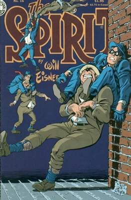 The Spirit (1983-1992) (Comic book. 32 pp) #16