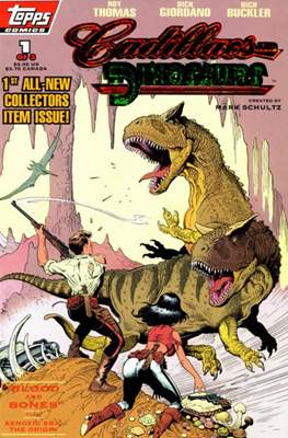 Cadillacs and Dinosaurs (Variant Cover)